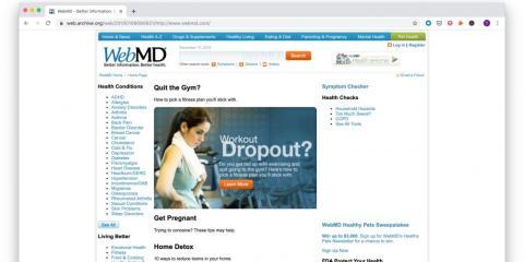 WebMD, 2010