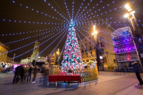 Zaragoza en Navidad