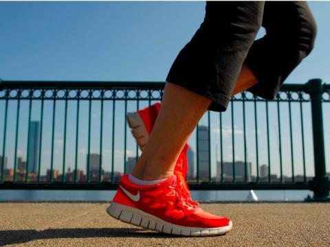 Hacer ejercicio es una gran manera de aliviar el estrés