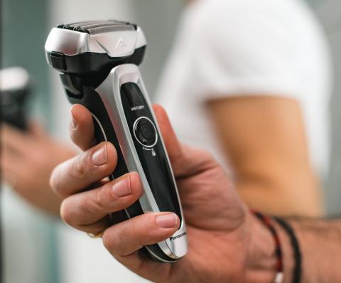afeitadora Panasonic LV 65 afeitado ruido