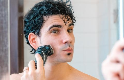 afeitadora Panasonic LV 65 para ducha