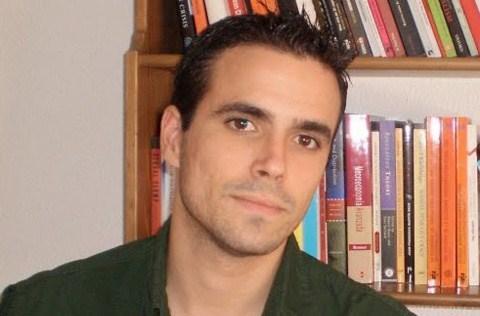 Alberto Garzón en sus años de la universidad.