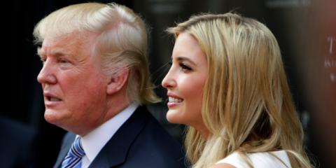 """Ivanka Trump le dijo a 'Business Insider' que su padre le enseñó a fijarse """"metas muy ambiciosas""""."""