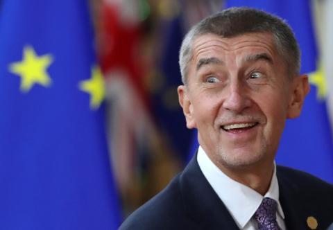 Andrej Babis, primer ministro checo.