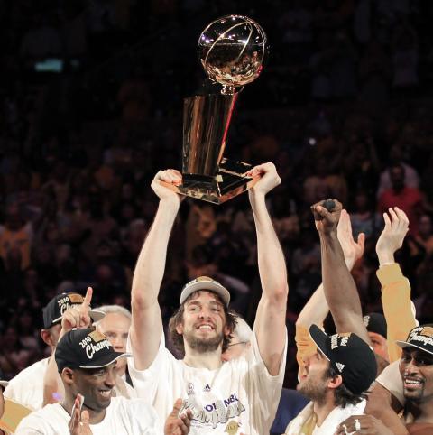 Los Angeles Lakers ganan la NBA (2009)