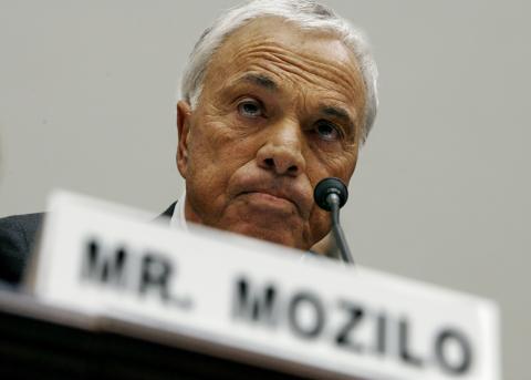 Angelo Mozilo, fundador y CEO de Countrywide Financial.