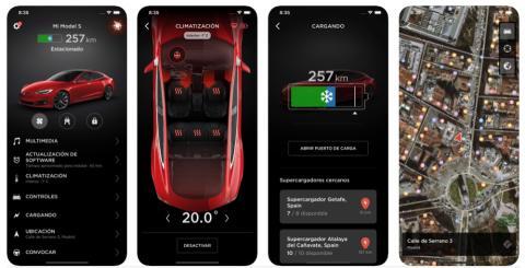 App de Tesla