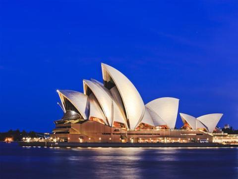 Ópera de Sydney.