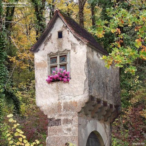 Belle's tiny house.