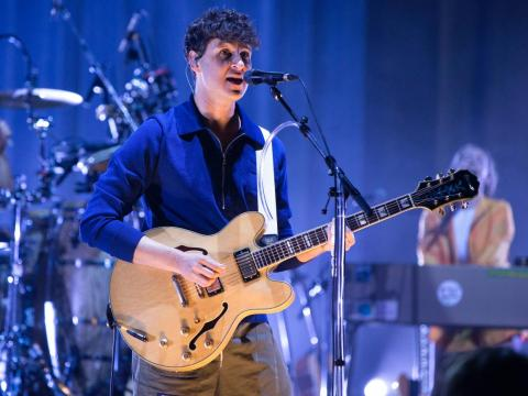 Vampire Weekend performing in September.