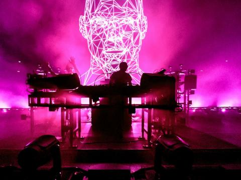 Ed Simons and Tom Rowlands of The Chemical Brothers performing in November.