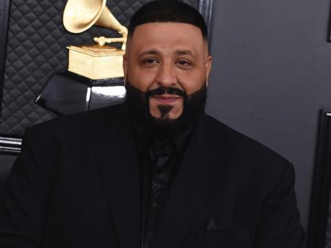 DJ Khaled at the 2020 Grammys.