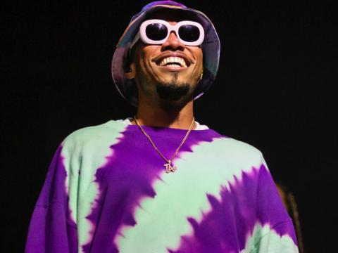 Anderson .Paak performing in 2019.