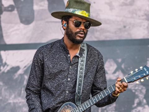 Gary Clark Jr. performing in May.