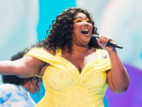 Lizzo is up for an award for best traditional R&B performance.