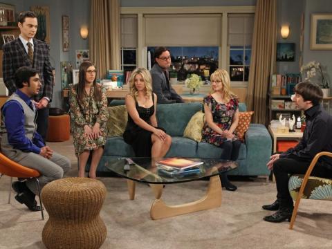 """El elenco de """"The Big Bang Theory."""""""