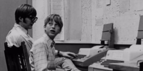 Bill Gates leyó la serie de la Enciclopedia del Libro Mundial cuando era niño.