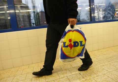 Bolsa de compra de Lidl.