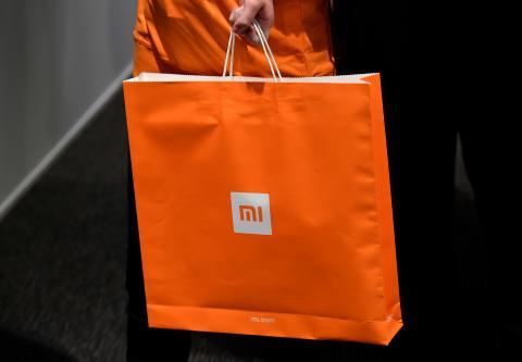 Bolsa de Xiaomi.