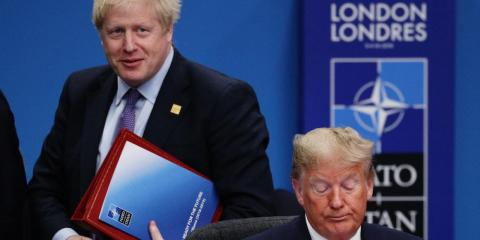 Boris Johnson defies Trump and gives Huawei the green light to develop Britain's 5G network