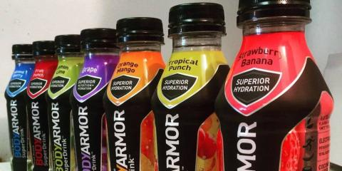 Botellas de BodyArmor