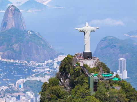 El Cristo Redentor, Rio de Janeiro.