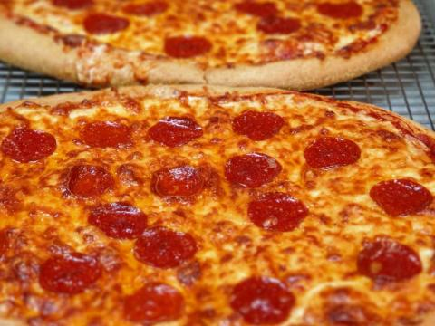 Brigaid recently started offering kids pepperoni pizza on homemade crust.