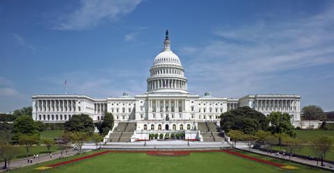 El Capitolio de los EEUU.
