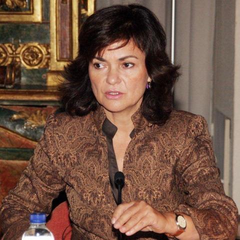 Carmen Calvo en 2006.