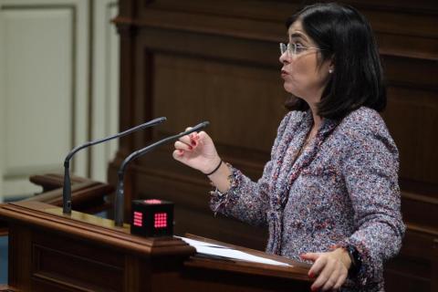 Carolina Darias, ministra de Política Territorial y Función Pública