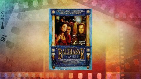 Cartel de La leyenda de Balthasar el Castrado