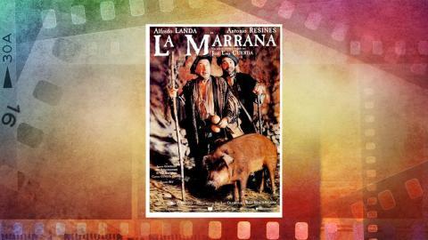 Cartel de La marrana