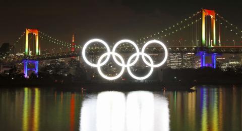 Celebraciones en Tokio para conmemorar el inicio del año olímpico