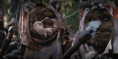 No se limitaron a cortar a los Ewoks sin ninguna razón.