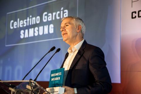 Celestino García, Samsung, galardonado con el premio CEO Insider