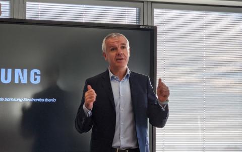Celestino García, vicepresidente corporativo de Samsung Iberia