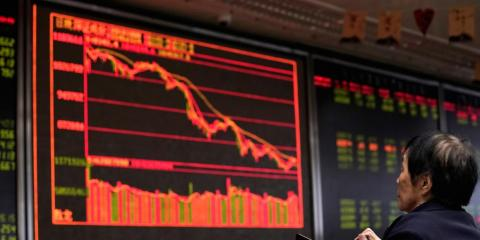 China stocks plunge after authorities lock down Wuhan to contain the deadly coronavirus