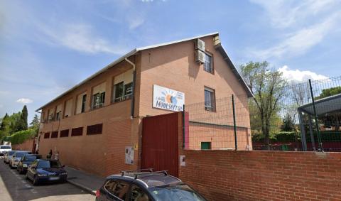 Colegio Montserrat, en Orcasitas.