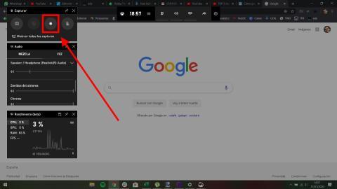 Cómo grabar la pantalla de Windows 10