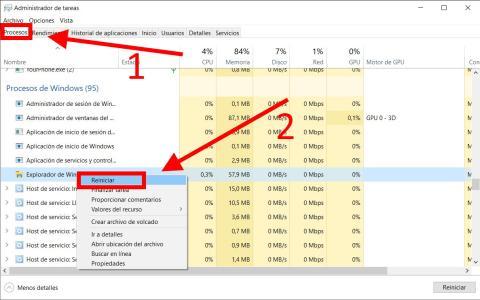 Cómo liberar memoria RAM en Windows 10