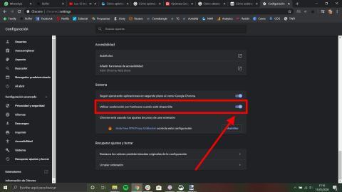 Cómo optimizar Google Chrome a través de la aceleración de software