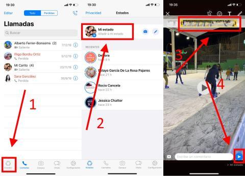 Cómo poner vídeos de YouTube en el estado de WhatsApp
