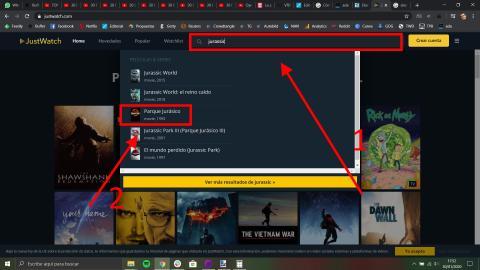Cómo saber si una película o serie está en Netflix, HBO, Amazon Prime Video u otras plataformas de streaming