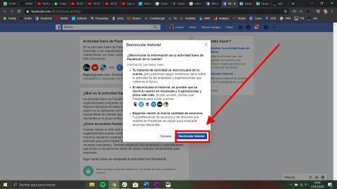 Cómo ver y eliminar la información que tiene Facebook sobre ti