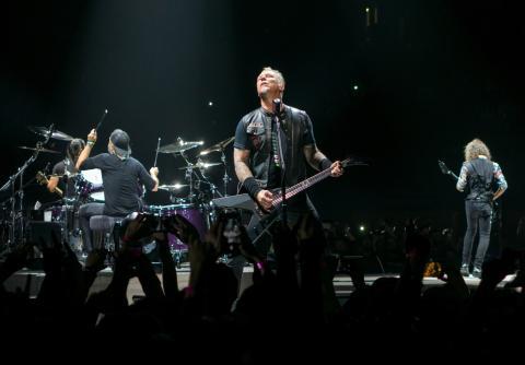 Concierto de Metallica.