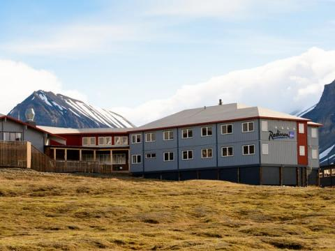 Radisson Blu Polar Hotel.