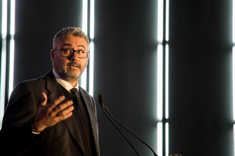 Miguel Hernández, Director de Producto Iberia en Lenovo, recogió el premio Smart Business.