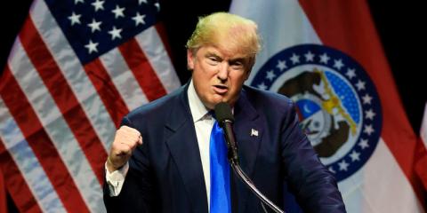 Donald Trump fue enviado a la escuela militar a los 13 años por problemas de comportamiento