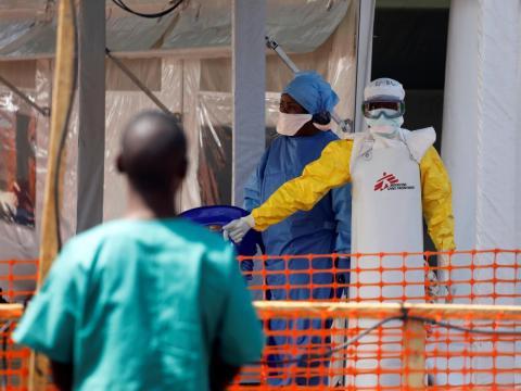 Centro de tratamiento de ébola de MSF en Goma (República Democrática del Congo).