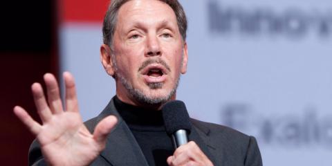 """Un ejecutivo de Oracle describió una vez al CEO Larry Ellison de esta manera: """"La diferencia entre Dios y Larry es que Dios no cree que sea Larry""""."""